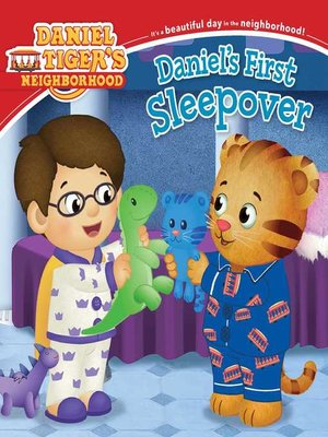 cover image of Daniel's First Sleepover