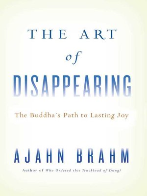 cover image of The Art of Disappearing