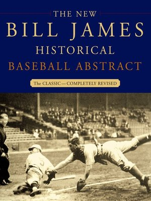 cover image of The New Bill James Historical Baseball Abstract