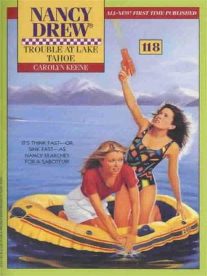 cover image of Trouble at Lake Tahoe
