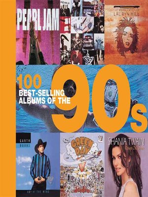 cover image of 100 Best-selling Albums of the 90s
