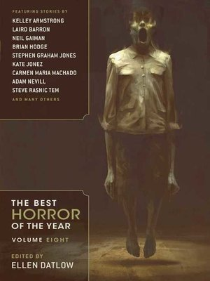 cover image of Best Horror of the Year Volume 8