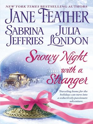 cover image of Snowy Night with a Stranger