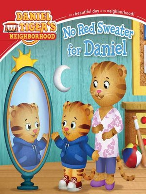 cover image of No Red Sweater for Daniel