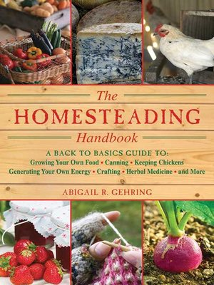 cover image of The Homesteading Handbook