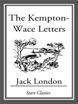 cover image of The Kempton-Wase Letters