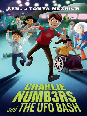 cover image of Charlie Numbers and the UFO Bash