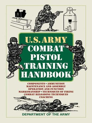 cover image of U.S. Army Combat Pistol Training Handbook