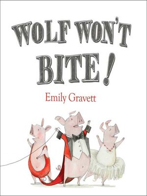 cover image of Wolf Won't Bite!