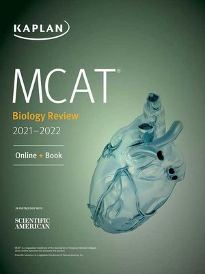 cover image of MCAT Biology Review 2021-2022