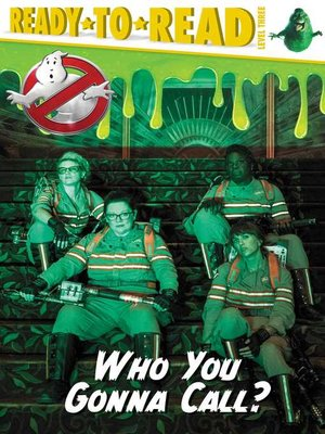 cover image of Who You Gonna Call?