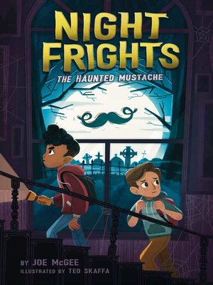cover image of The Haunted Mustache