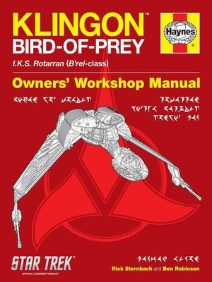 cover image of Klingon Bird-of-Prey Haynes Manual