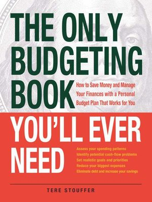 cover image of The Only Budgeting Book You'll Ever Need