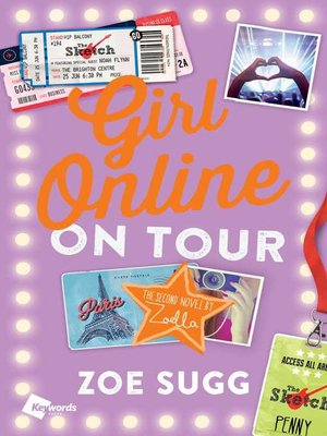 cover image of On Tour: The Second Novel by Zoella
