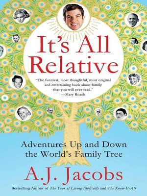 cover image of It's All Relative
