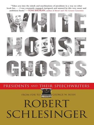 cover image of White House Ghosts