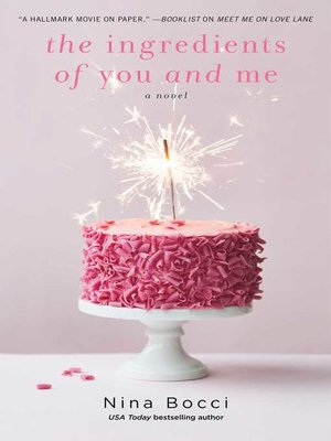 cover image of The Ingredients of You and Me