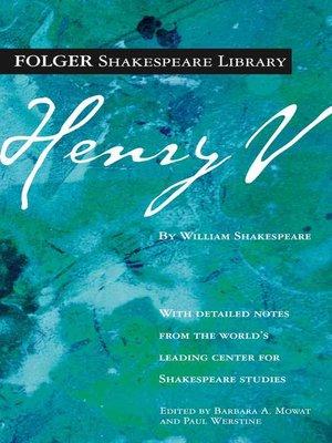 cover image of Henry V