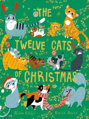 cover image of The Twelve Cats of Christmas