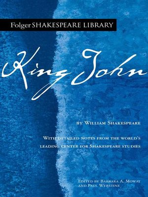 cover image of King John