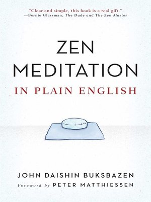 cover image of Zen Meditation in Plain English