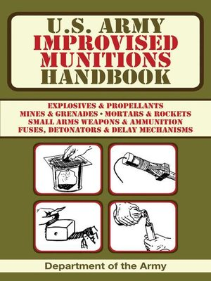 cover image of U.S. Army Improvised Munitions Handbook
