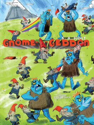 cover image of Gnome-a-geddon