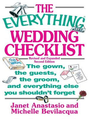 cover image of The Everything Wedding Checklist