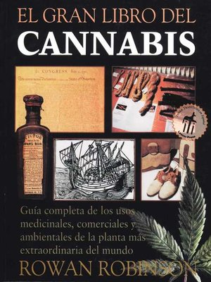 cover image of El gran libro del cannabis