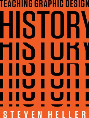 cover image of Teaching Graphic Design History