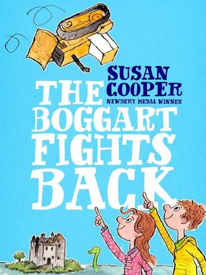 cover image of The Boggart Fights Back