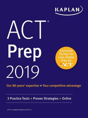 cover image of ACT Prep 2019