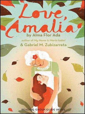cover image of Con cariño, Amalia (Love, Amalia)