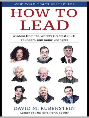 cover image of How to Lead