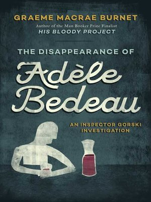 cover image of The Disappearance of Adèle Bedeau