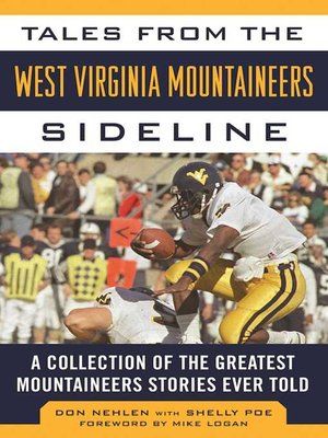 cover image of Tales from the West Virginia Mountaineers Sideline