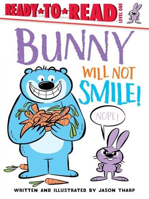 cover image of Bunny Will Not Smile!
