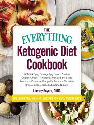 cover image of The Everything Ketogenic Diet Cookbook