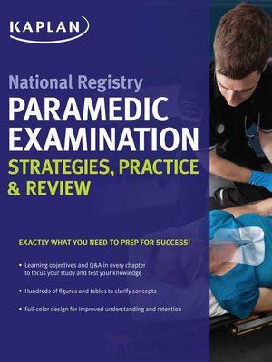 cover image of National Registry Paramedic Examination Strategies, Practice & Review