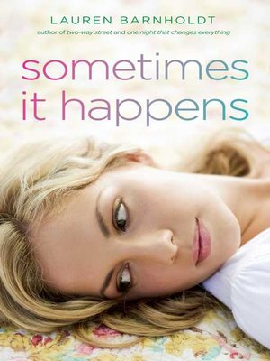 cover image of Sometimes It Happens