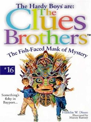 cover image of The Fish-Faced Mask of Mystery