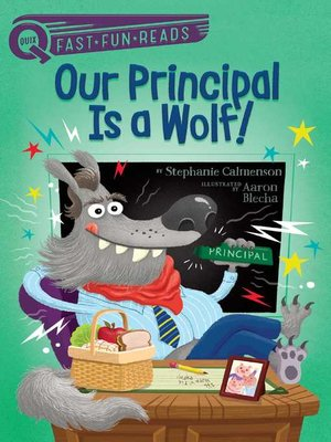 cover image of Our Principal Is a Wolf!