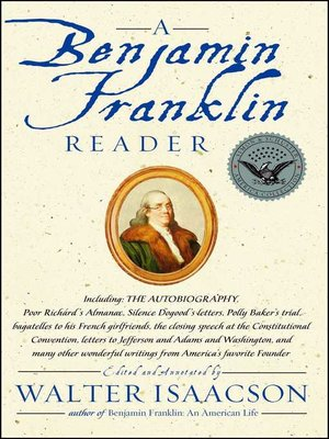 cover image of A Benjamin Franklin Reader