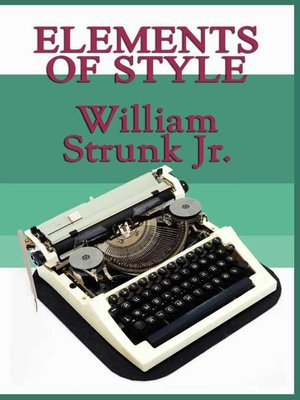 cover image of Elements of Style