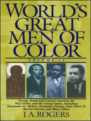 cover image of World's Great Men of Color, Volume II