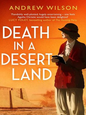 cover image of Death in a Desert Land