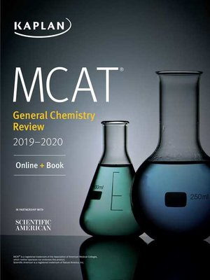 cover image of MCAT General Chemistry Review 2019-2020