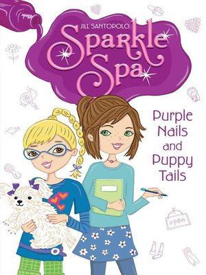 cover image of Purple Nails and Puppy Tails