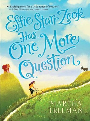 cover image of Effie Starr Zook Has One More Question